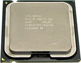 HP Intel Core 2 Duo E6600 2.4GHz 4MB L2 - Procesador (Intel® Core™2 Duo, 2,4 GHz, LGA 775 (Socket T), PC, 65 NM, E6600)