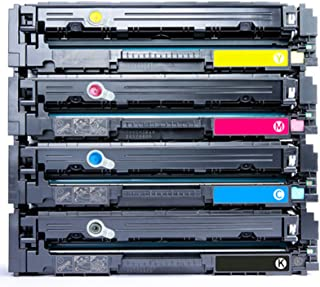 Compatible for HP 215A for HP Color LaserJet Pro MFP M182nw M183wn M182n M155a M155nw Printer Black Yellow Cyan and Magent...