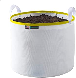 Rain Science Grow Bag (25 Gallon, White/Yellow)