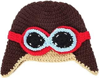 Baby Boy Girl Beanie Pilot Aviator Crochet Earflap Hat Warm Winter Cap