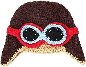 La Vogue Baby Boy Girl Beanie Pilot Aviator Crochet Earflap Hat Warm Winter Cap