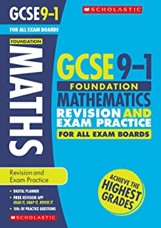 Maths Foundation Revision and Exam Practice Book for All Boards
