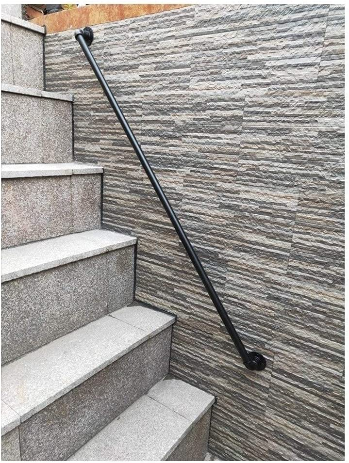 Wall Mounted Mail order Stairs Safety Railings Retro Max 42% OFF Banister Handles Grab