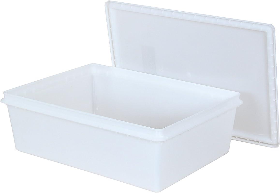 Fish Tubs Food Storage Bins 25lb 11 5 X 15 5 X 5 Pack Of 10 Combos
