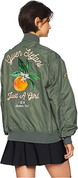 Just a Girl Zappos Bomber Jacket