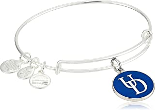 Alex and Ani Womens Color Infusion University of Delaware Logo II Bangle