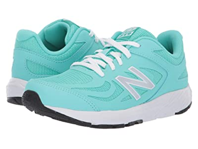New Balance Kids 519v1 (Little Kid/Big Kid) (Light Tidepool/White) Girls Shoes