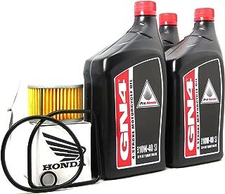 1979 Honda Cx500 Oil Change Kit With Shaft Drive Fluid