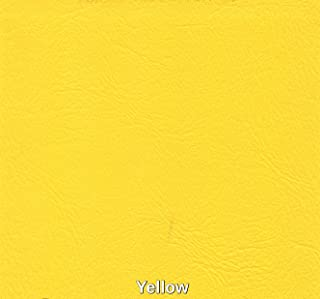 Marine Vinyl Waterproof Yellow 54 Inch Fabric by The Yard Sold (Luvfabrics) Ships Rolled