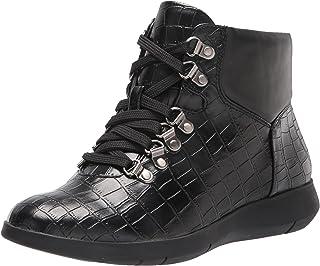 Aerosoles Women's Frankie Ankle Boot, Black Croco, 7