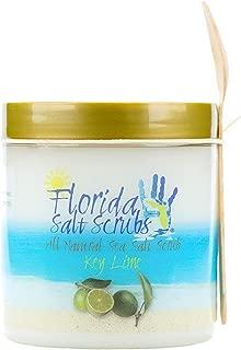 Florida Salt Scrubs, 12.1 Ounce, Key Lime