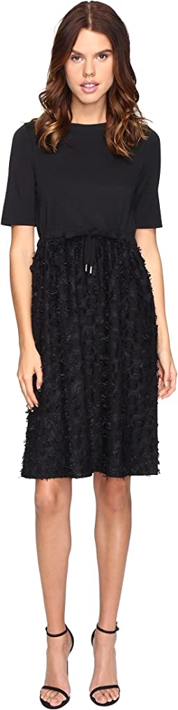 See by Chloe - Cotton Embellished Drawstring Dress