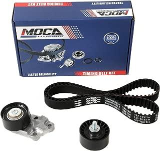 MOCA TCK335 Timing Belt Kit with Tensioner Fit 2004-2008 Chevrolet Aveo & 2006-2008 Pontiac Wave & 2004-2007 Suzuki Swift+ 1.6L L4