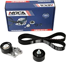 MOCA TCK335 Timing Belt Kit with Tensioner Fit 2004-2008 Chevrolet Aveo & 2006-2008 Pontiac Wave & 2004-2007 Suzuki Swift+ 1.6L L4