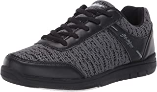 Mens Flyer Mesh Bowling Shoes- Black/Steel