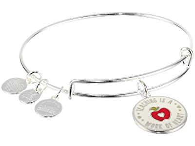 Alex and Ani Color Infusion Teacher Appreciation (Shiny Silver) Bracelet