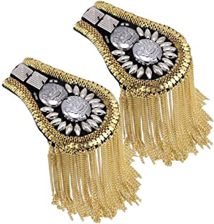 military shoulder tassels