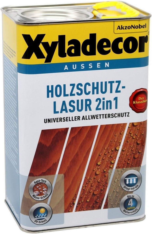 Xyladecor Barniz protector de madera verde abeto 750 ml - 5087261