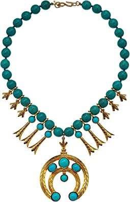 Gold/Turquoise