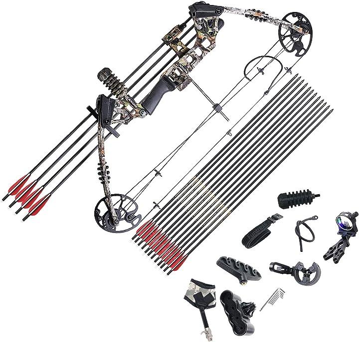 Arco professionale - tiro con l`arco - funtress compound bow 17