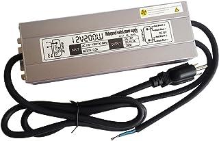 200w Waterproof Led Light Strip Power Supply Transformer,110-130v Ac To 12v Dc