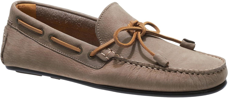 Sebago Men's Men's Tirso Tie Leather Taupe Loafers  schneller Versand weltweit