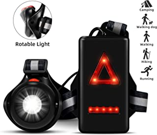 Best rechargeable chest running light Reviews