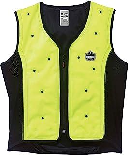 Ergodyne Chill Its 6685 Lime Dry Evaporative Cooling Vest, Medium