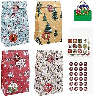 アドベントカレンダー 2021アドベントカレンダー24日間のクリスマスカウントダウンカレンダーバッグを埋める wutyxktts 0923