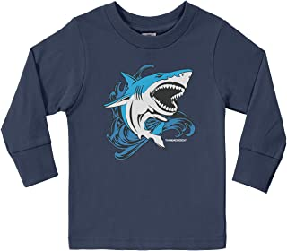 Little Boys' Shark Toddler Long Sleeve T-Shirt