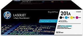 HP 201A | CF400AQ1 | 4 Toner Cartridges | Black, Cyan, Magenta, Yellow
