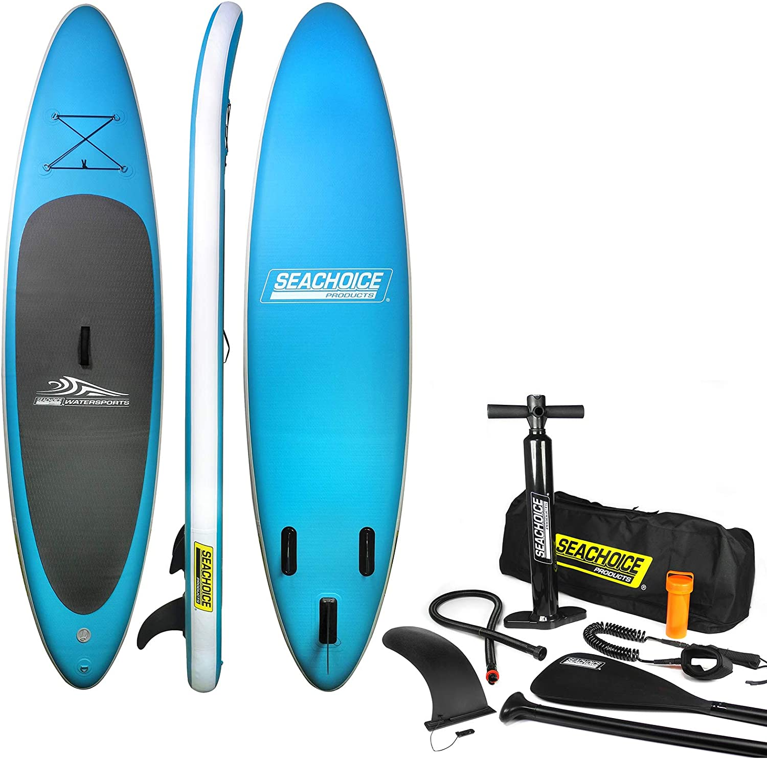 SEACHOICE 25% OFF 86941 Inflatable Stand-Up Paddle Includes - Board Inexpensive Kit
