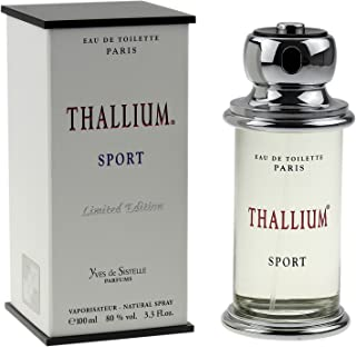 Thallium Sport By Jacques Evard For Men Edt Spray 3.3 Oz