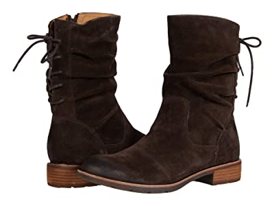 Sofft Sharnell Low Waterproof (Lince Dark Brown Oiled Cow Suede) Women