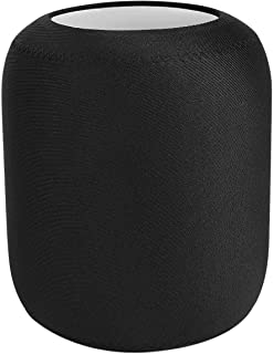 Iycorish Storage Pouch Protective Cover Case for Homepod Speaker(Black)