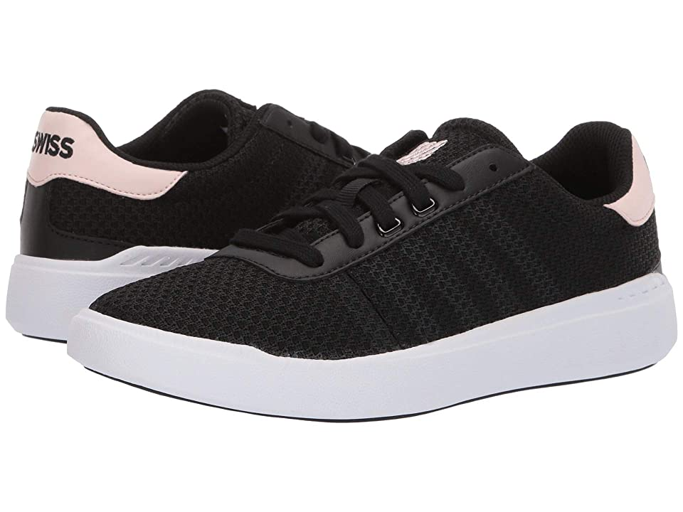 K-Swiss Heritage Light T (Black/Creole Pink/White) Women