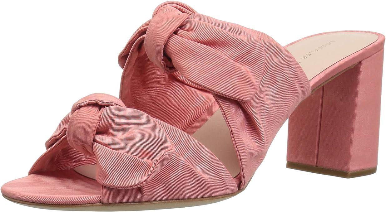 Loeffler Randall Womens Adele Double Knot Mule Pink Size: 10