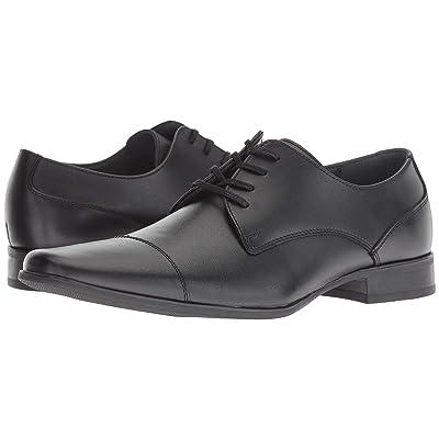 Calvin Klein Bachman Soft Action Leather (Black) Men