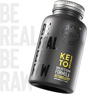 KETOBULLETS™ Keto BHB Capsules by Raw One | BHB Keto Salts Exogenous Ketones | Keto Weight Management Supplement | Boost E...