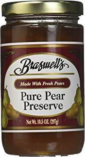 Braswell's Pure Pear Preserves, 10.5oz