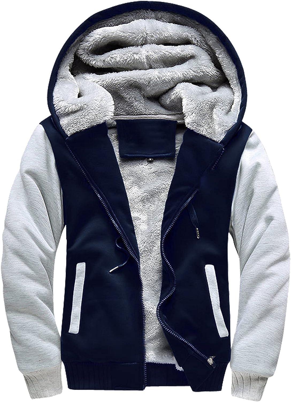 Men's Trust Jacket Coat Slim fit Hoodie Full Industry No. 1 Outwe Zip Fleece Cardigan