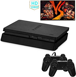 Retro Game Console, HD Video Games Entertainment System HDMI & AV Classic TV Games Console with 2PCS Joystick