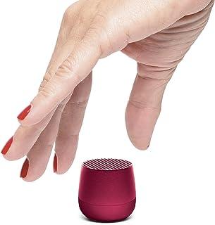 Lexon MINO - Ultra Portable Bluetooth Speaker & Selfie Remote - Rechargable (Plum)