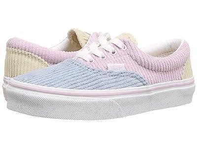 Vans Kids Era (Little Kid/Big Kid) ((Corduroy) Lilac Snow/Blue Fog) Girls Shoes