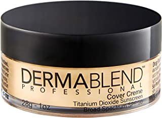 Dermablend Cover Creme Full Coverage Foundation with SPF 30, 1 Oz.