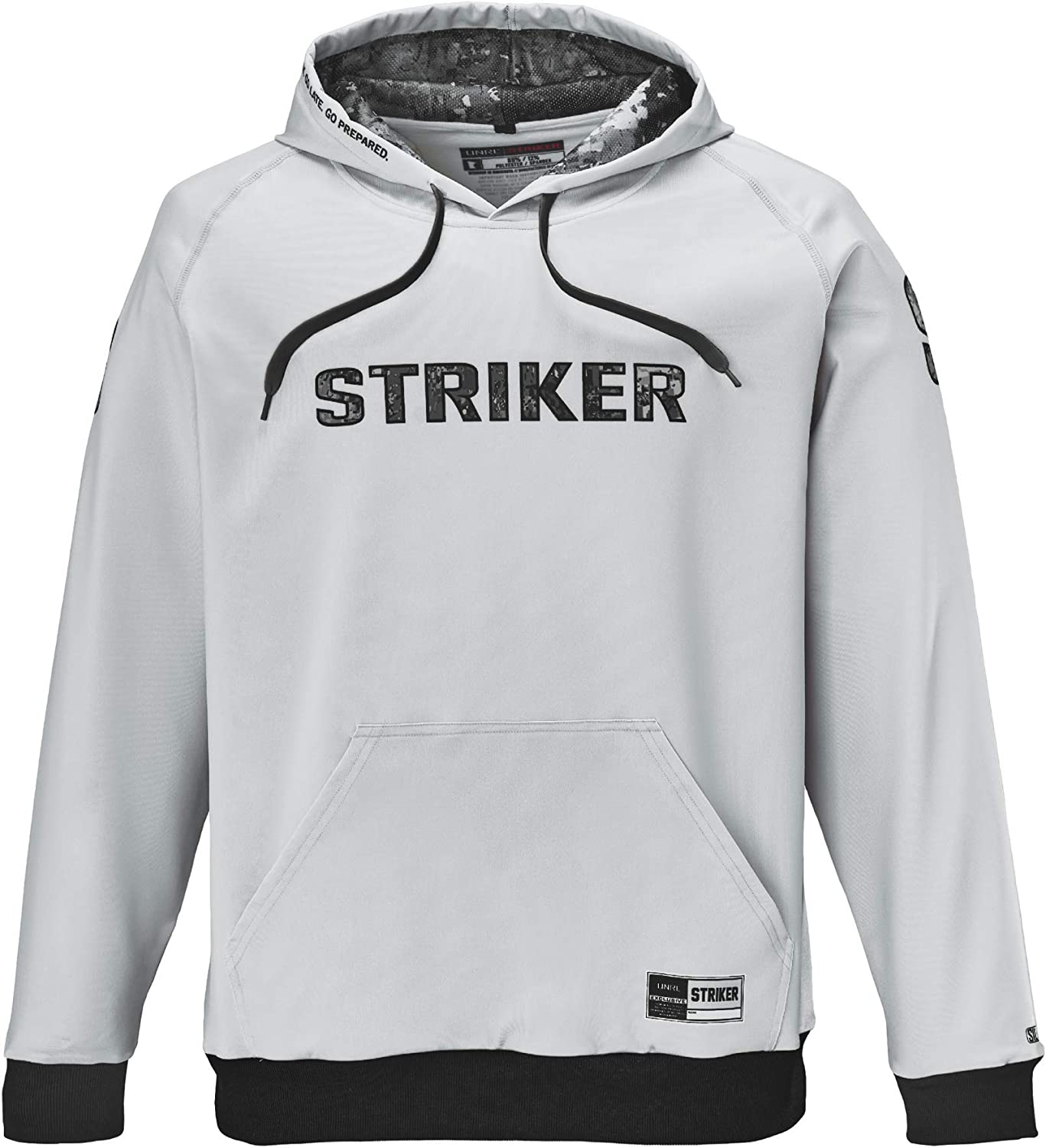 Striker Fanatic Hooded Fleece Sweatshirt, Super-Stretch Polyester with Fleece Interior for Fishing and Daily Wear
