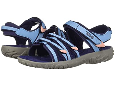 Teva Kids Tirra (Little Kid/Big Kid) (Alaskan Blue) Girls Shoes