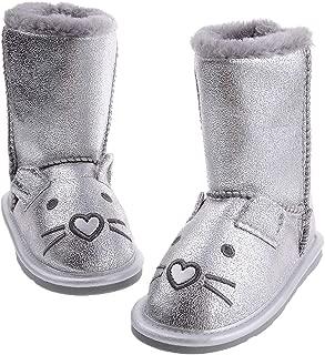 Shoeslocker Girls Winter Warm Booties Slippers