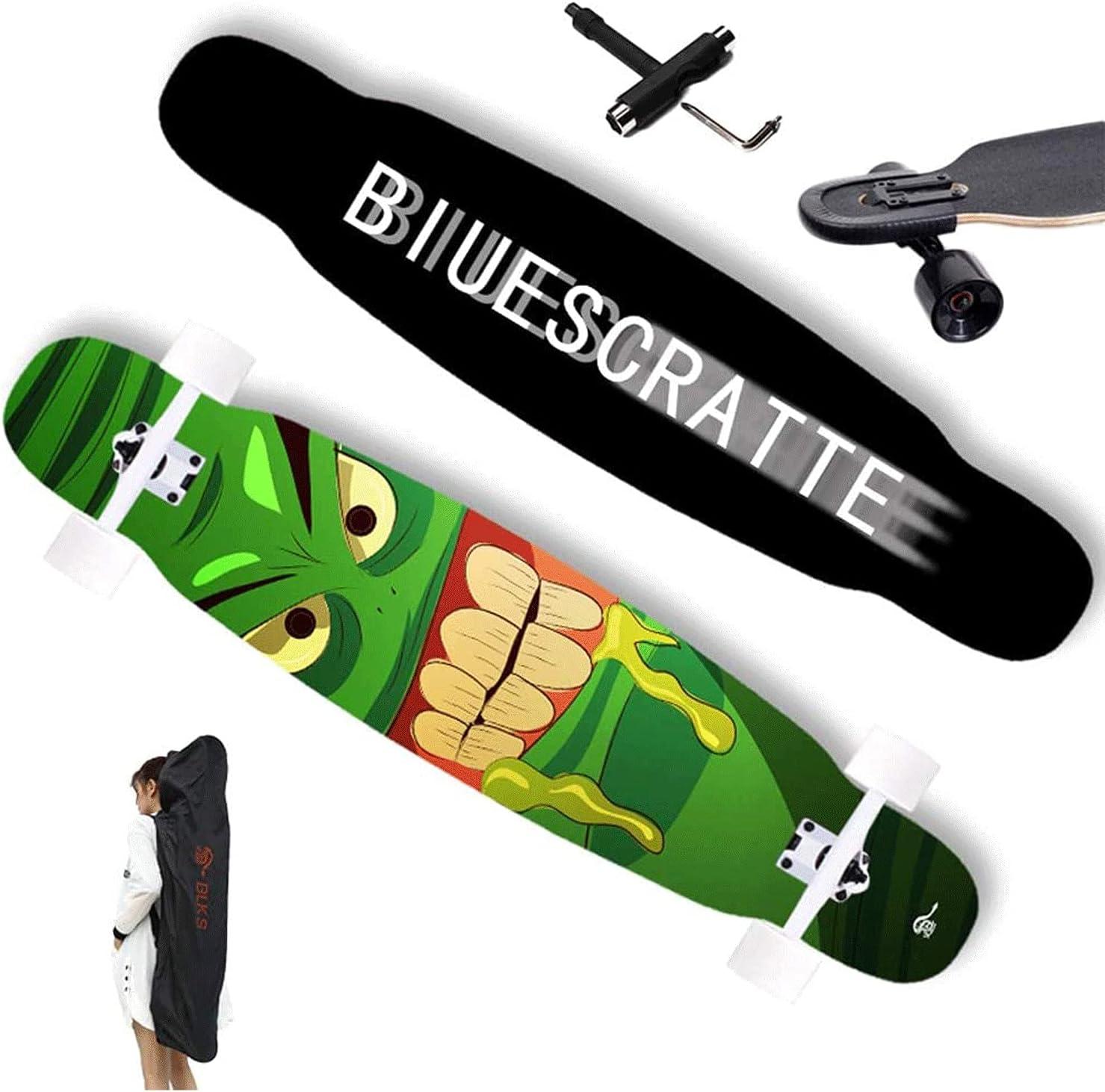 EEGUAI Max 63% OFF Skateboard Complete 7 Spring new work Layer Crui Longboard Maple