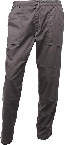 Regatta - Pantalon - Homme (Tour de taille 81cm x régulier) (gris foncé)